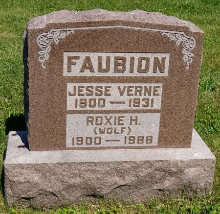 FAUBION, ROXIE HASTINGS - Taylor County, Iowa | ROXIE HASTINGS FAUBION