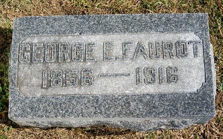 FAUROT, GEORGE EPHRAIM - Taylor County, Iowa   GEORGE EPHRAIM FAUROT
