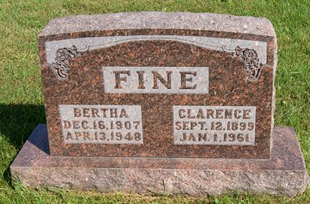 FINE, BERTHA - Taylor County, Iowa | BERTHA FINE