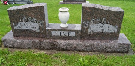 FINE, DONA ETHEL - Taylor County, Iowa | DONA ETHEL FINE