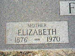 FIRKINS, ELIZABETH - Taylor County, Iowa | ELIZABETH FIRKINS