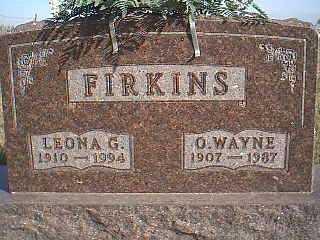 FIRKINS, O. WAYNE - Taylor County, Iowa | O. WAYNE FIRKINS