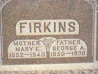 FIRKINS, MARY E. - Taylor County, Iowa | MARY E. FIRKINS
