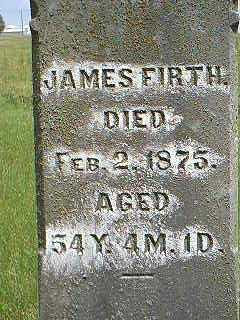 FIRTH, JAMES - Taylor County, Iowa | JAMES FIRTH