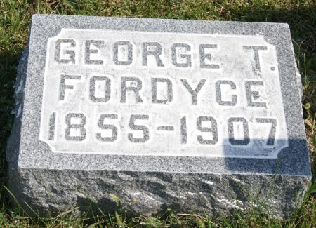FORDYCE, GEORGE THOMAS - Taylor County, Iowa | GEORGE THOMAS FORDYCE