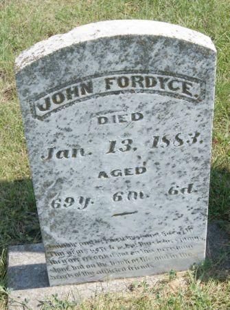 FORDYCE, JOHN FRANKLIN - Taylor County, Iowa   JOHN FRANKLIN FORDYCE