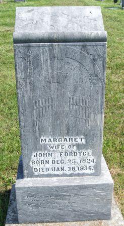 FORDYCE, MARGARET - Taylor County, Iowa   MARGARET FORDYCE