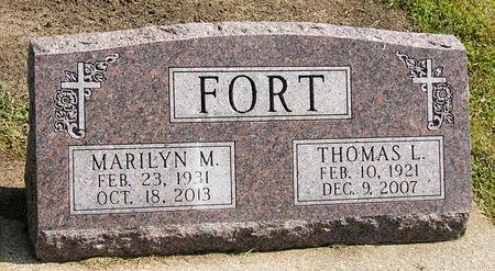 FORT, MARILYN MADONNA - Taylor County, Iowa | MARILYN MADONNA FORT