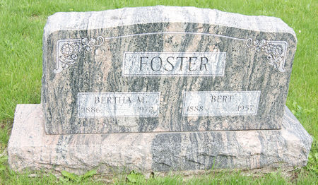 RUSSELL FOSTER, BERTHA MARIA - Taylor County, Iowa | BERTHA MARIA RUSSELL FOSTER