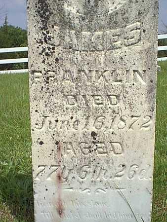 FRANKLIN, JAMES - Taylor County, Iowa | JAMES FRANKLIN