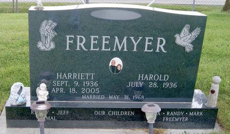 FREEMYER, HARRIETT ANN - Taylor County, Iowa | HARRIETT ANN FREEMYER