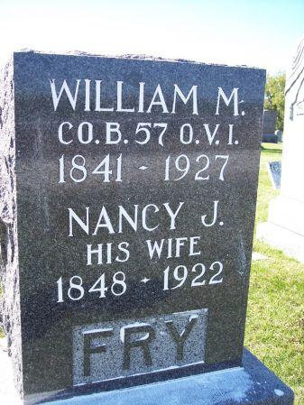 FRY, WILLIAM M. - Taylor County, Iowa | WILLIAM M. FRY