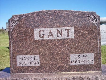 SALEN GANT, MARY E. - Taylor County, Iowa | MARY E. SALEN GANT