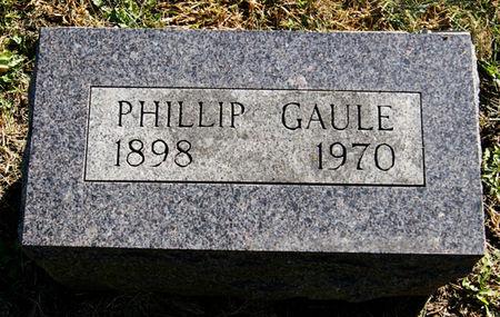 GAULE, PHILLIP - Taylor County, Iowa   PHILLIP GAULE