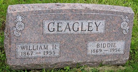 GEAGLEY, BIDDIE - Taylor County, Iowa   BIDDIE GEAGLEY