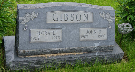 STAAB GIBSON, FLORA LOUISE - Taylor County, Iowa   FLORA LOUISE STAAB GIBSON