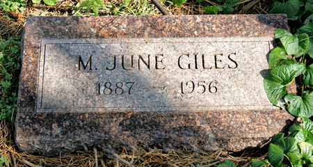 GILES, MYRTLE JUNE - Taylor County, Iowa | MYRTLE JUNE GILES