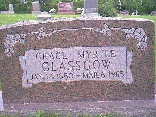 GLASSGOW, GRACE MYRTLE - Taylor County, Iowa | GRACE MYRTLE GLASSGOW