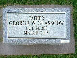 GLASSGOW, GEORGE W. - Taylor County, Iowa | GEORGE W. GLASSGOW