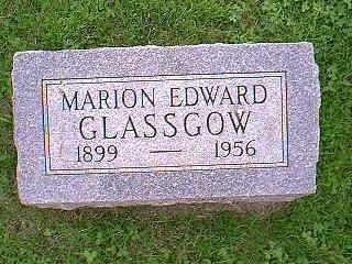 GLASSGOW, MARION EDWARD - Taylor County, Iowa | MARION EDWARD GLASSGOW