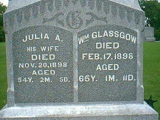 GLASSGOW, JULIA A. - Taylor County, Iowa | JULIA A. GLASSGOW