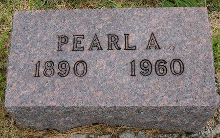 HUBBARD GOLLIDAY, PEARL A.