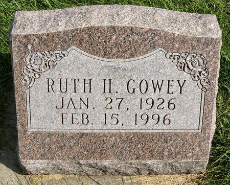 GOWEY, RUTH HESTER - Taylor County, Iowa | RUTH HESTER GOWEY