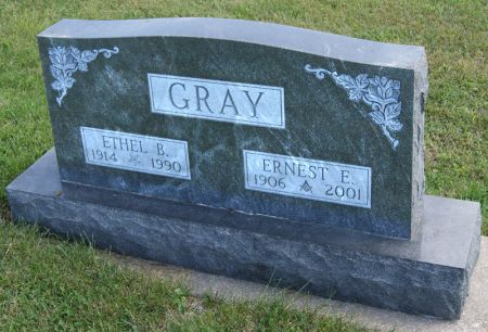 GRAY, ETHEL BLANCHE - Taylor County, Iowa | ETHEL BLANCHE GRAY