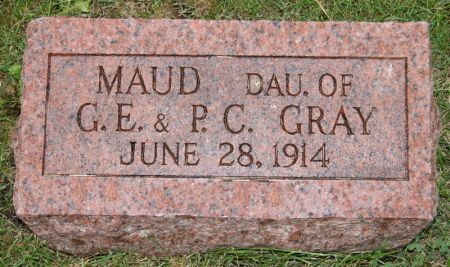 GRAY, MAUD - Taylor County, Iowa | MAUD GRAY