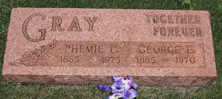 GRAY, PHEMIE CLOTILDA - Taylor County, Iowa | PHEMIE CLOTILDA GRAY