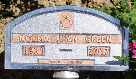 GREEN, NORMA JEAN - Taylor County, Iowa | NORMA JEAN GREEN