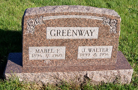 GREENWAY, MABEL FORREST - Taylor County, Iowa | MABEL FORREST GREENWAY