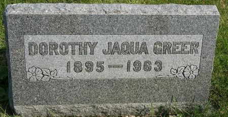 GREER, DOROTHY - Taylor County, Iowa | DOROTHY GREER