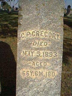 GREGORY, C.P. - Taylor County, Iowa | C.P. GREGORY