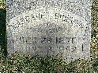 GRIEVES, MARGARET - Taylor County, Iowa   MARGARET GRIEVES