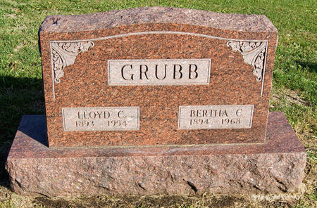 GRUBB, LLOYD CHESTER - Taylor County, Iowa | LLOYD CHESTER GRUBB