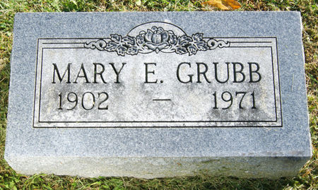 GRUBB, MARY ETTA - Taylor County, Iowa | MARY ETTA GRUBB