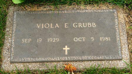 GRUBB, VIOLA EMELINE - Taylor County, Iowa | VIOLA EMELINE GRUBB