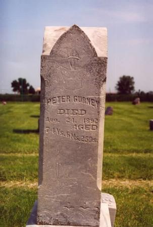 GURNEY, PETER - Taylor County, Iowa | PETER GURNEY