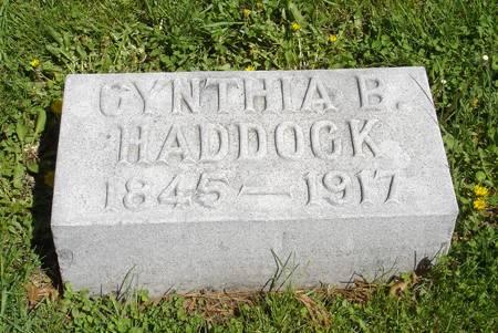 HADDOCK, CYNTHIA BROOKS - Taylor County, Iowa | CYNTHIA BROOKS HADDOCK