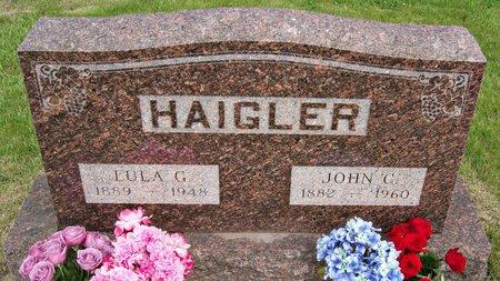 HAIGLER, JOHN CARL - Taylor County, Iowa | JOHN CARL HAIGLER