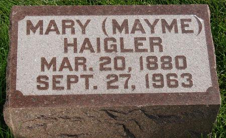 HAIGLER, MARY  MARGARET