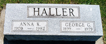 HALLER, GEORGE GLEN - Taylor County, Iowa | GEORGE GLEN HALLER