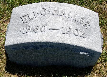 HALLER, ELI G. - Taylor County, Iowa | ELI G. HALLER