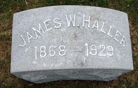 HALLER, JAMES WILLIAM - Taylor County, Iowa | JAMES WILLIAM HALLER