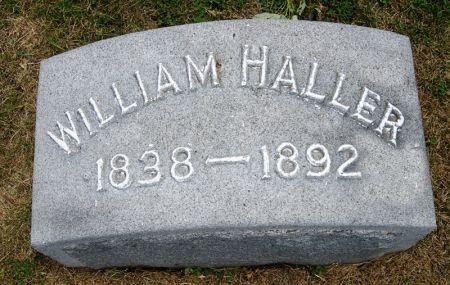 HALLER, WILLIAM - Taylor County, Iowa | WILLIAM HALLER