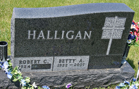 NEWKIRK HALLIGAN, BETTY ANN - Taylor County, Iowa | BETTY ANN NEWKIRK HALLIGAN