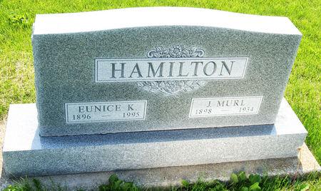 KENNEDY HAMILTON, EUNICE MARY - Taylor County, Iowa | EUNICE MARY KENNEDY HAMILTON