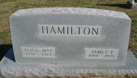 HAMILTON, JAMES FRANKLIN. - Taylor County, Iowa   JAMES FRANKLIN. HAMILTON