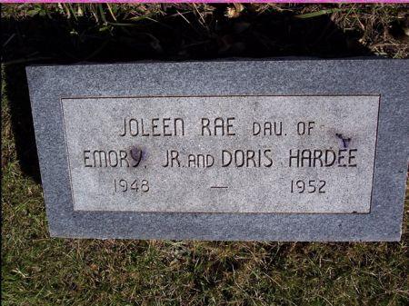 HARDEE, JOLEEN RAE - Taylor County, Iowa   JOLEEN RAE HARDEE